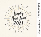 handmade style greeting card  ... | Shutterstock .eps vector #1825587179