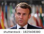 French President Emmanuel...