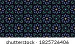 vintage wallpaper pattern... | Shutterstock .eps vector #1825726406