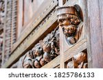 Medieval Gothic Wood Carving...