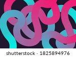 abstract decorative wallpaper...   Shutterstock .eps vector #1825894976