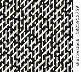 vector monochrome geometric... | Shutterstock .eps vector #1825952759