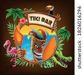Indigenous Mask For Tiki Bar...