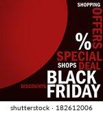 black friday | Shutterstock . vector #182612006