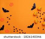 halloween background. halloween ... | Shutterstock . vector #1826140346