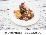 roasted pork | Shutterstock . vector #182622500