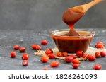 Homemade Rosehip Marmalade In...