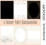6 party background with... | Shutterstock .eps vector #182626289
