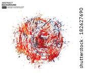 printing ink | Shutterstock .eps vector #182627690