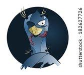 bird and worm   Shutterstock .eps vector #182627726