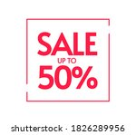 promotion sale up to 50... | Shutterstock .eps vector #1826289956