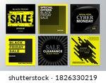black friday promotion square... | Shutterstock .eps vector #1826330219