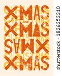 typographic grunge vintage... | Shutterstock .eps vector #1826353310