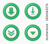 set of download icon symbol. ...