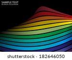 rainbow color vector abstract