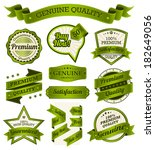 vintage badges  labels and... | Shutterstock .eps vector #182649056