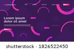 geometric background bright... | Shutterstock .eps vector #1826522450