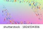disco background. many random... | Shutterstock .eps vector #1826534306