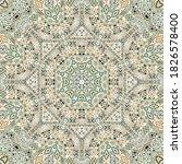 stylish seamless pattern of... | Shutterstock .eps vector #1826578400