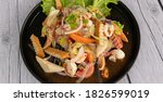 Spicy Thai Salas With Seafood