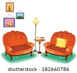 illustration of isolated cute... | Shutterstock .eps vector #182660786