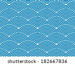 colorful geometric seamless...   Shutterstock .eps vector #182667836