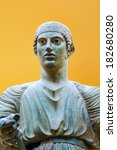 charioteer of delphi | Shutterstock . vector #182680280