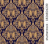 paisley indian seamless pattern.... | Shutterstock .eps vector #1826826230