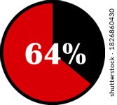 circle percentage diagrams... | Shutterstock .eps vector #1826860430