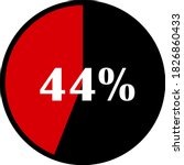 circle percentage diagrams... | Shutterstock .eps vector #1826860433
