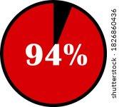 circle percentage diagrams... | Shutterstock .eps vector #1826860436