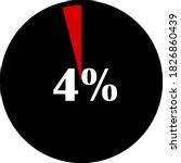 circle percentage diagrams... | Shutterstock .eps vector #1826860439