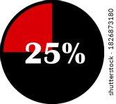 circle percentage diagrams... | Shutterstock .eps vector #1826873180