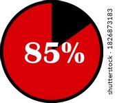 circle percentage diagrams... | Shutterstock .eps vector #1826873183