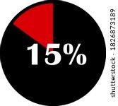 circle percentage diagrams... | Shutterstock .eps vector #1826873189