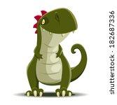 dinosaur | Shutterstock .eps vector #182687336