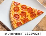 Closeup View Of A Slice Of A...