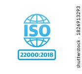 iso icon  great design for any... | Shutterstock .eps vector #1826913293