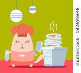 chef,cook,culinaire,délicieux,lavage de la vaisselle,mousse,a,emploi,mess,profession,qualifiés,impur,non lavés,lavage