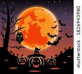 vector of silhouette cute...   Shutterstock .eps vector #1826943980