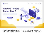 landing page template with...   Shutterstock .eps vector #1826957540