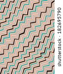 chevron striped abstract... | Shutterstock .eps vector #182695790