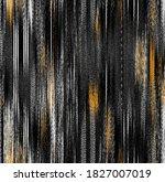 vertical ikat gradient  ombre... | Shutterstock . vector #1827007019