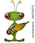 alien   vector | Shutterstock .eps vector #18270571