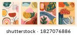 abstract art pastel backgrounds ... | Shutterstock .eps vector #1827076886