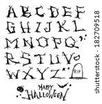alphabet | Shutterstock .eps vector #182709518