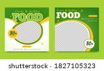 healthy and fresh food post... | Shutterstock .eps vector #1827105323