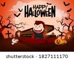 Halloween Vampire Character...