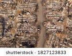 Burned Mobile Home Park In...