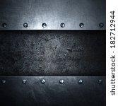 metal background   Shutterstock . vector #182712944